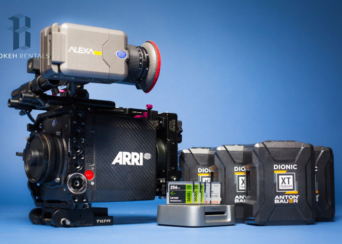 ARRI Alexa Mini BASIC Package - (4:3 & RAW) - 1