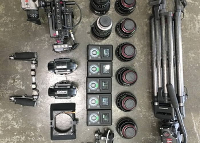 ARRI Alexa Mini Package Full Licenses Full Lens Package - 1