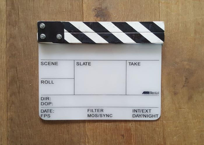 Arri Clapperboard Slate - Medium Standard Board  - 1