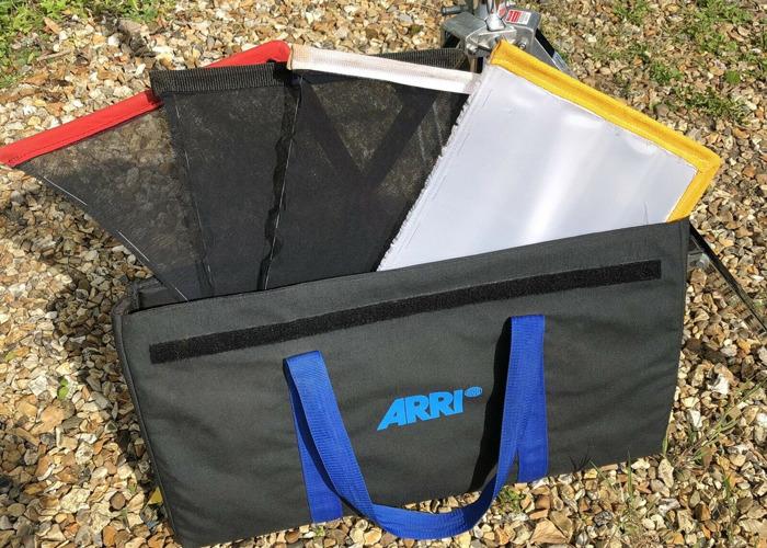 """Arri Nets/Silk/Flag Set 18""""x12"""" Grip gear - 1"""