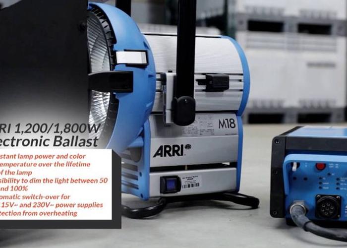 ARRI M18 HMI System - 1