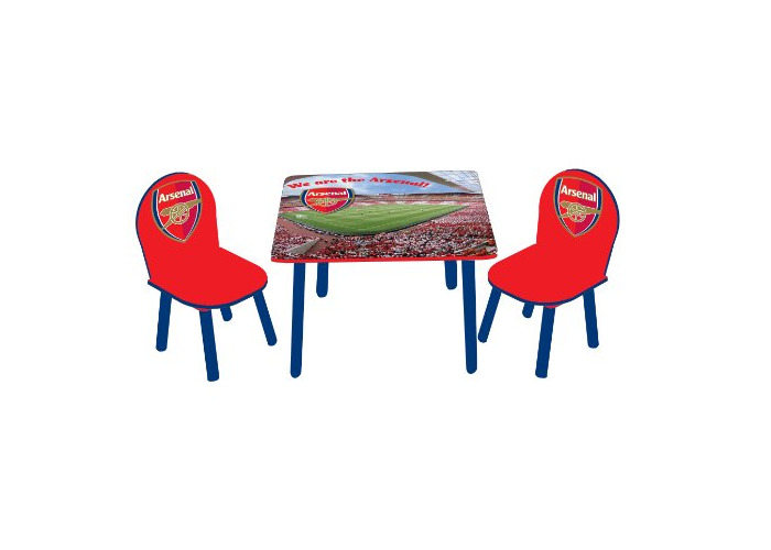 Arsenal Children's Wooden Table and Chairs - 1