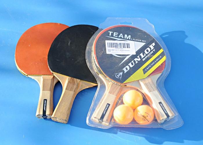 abf060606 Rent Artengo Table Tennis Table Outdoor With Bats Balls Fat Llama