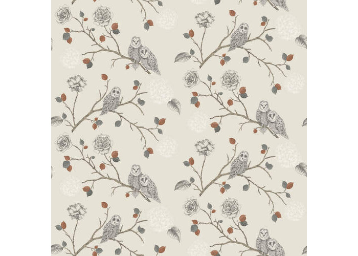 Arthouse Enchantment Wallpaper Night Owl Copper 665000 - 1