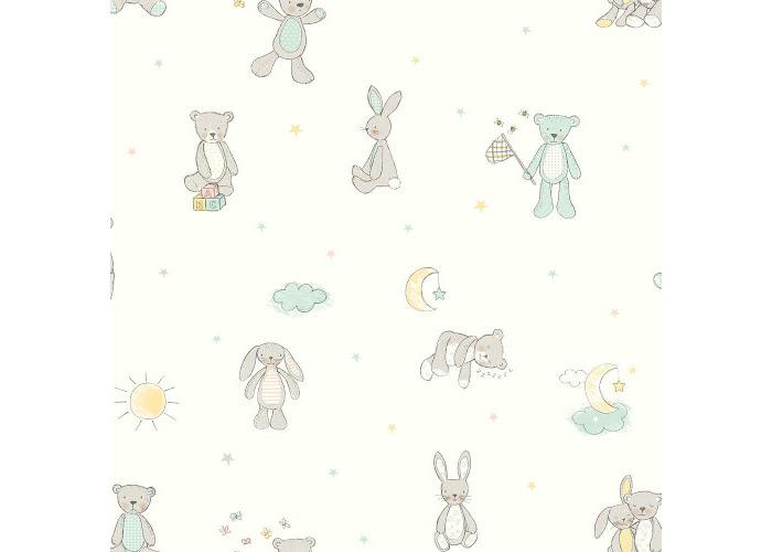 Arthouse Wallpaper Bear Hugs Mint 667400 - 1