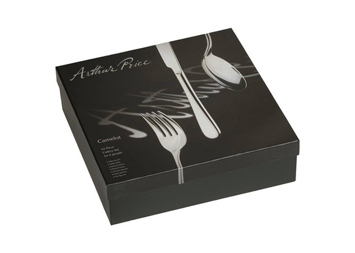 Arthur Price Camelot 42-Piece Stainless Steel 6 Person Boxed Set - 2