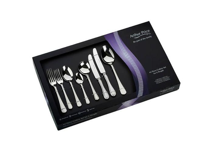 Arthur Price Classic Britannia 44 Piece Cutlery Gift Box Set - 1