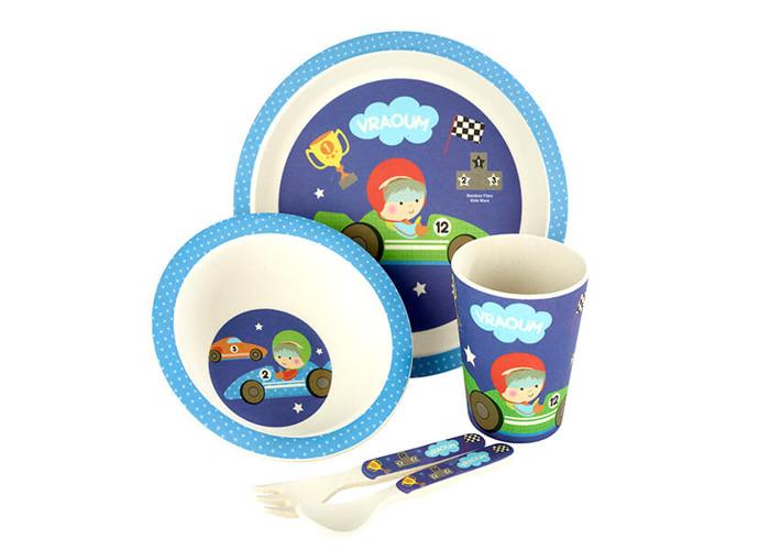Arthur Price Little Racer 5 Piece Bamboo Childs Set - 1