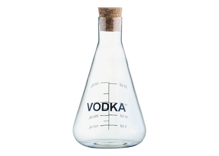 Artland Mixology VODKA Decanter in Wooden Crate Gift Box 750 ml 25.36 fl oz - 1