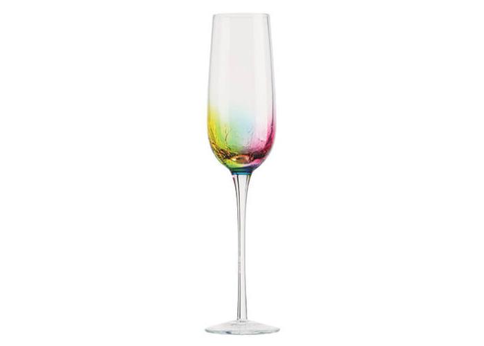 Artland Neon Set of 2 Champagne/Prosecco Flutes - 1