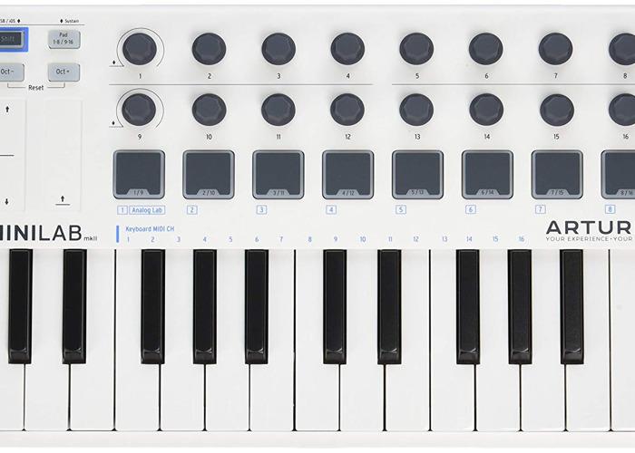 Arturia MiniLab MkII 25 Note Controller Keyboard - 1