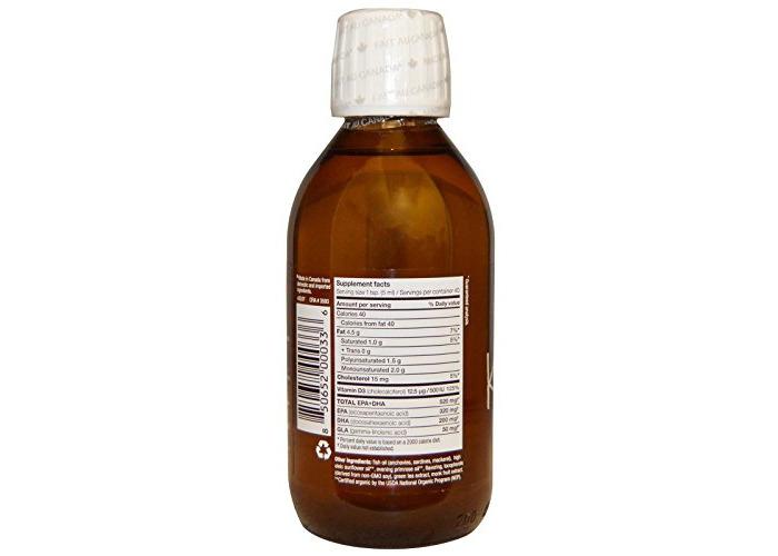 Ascenta Health - NutraSea Kids Liquid Omega-3 Bubble Gum Flavor - 6.8 oz. - 2