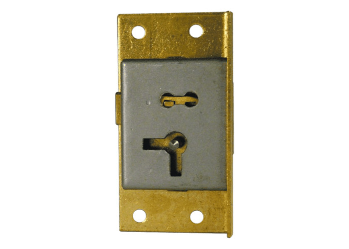 ASEC 20 1 Lever Cut Cupboard Lock - 64mm SB KA RH  - 1