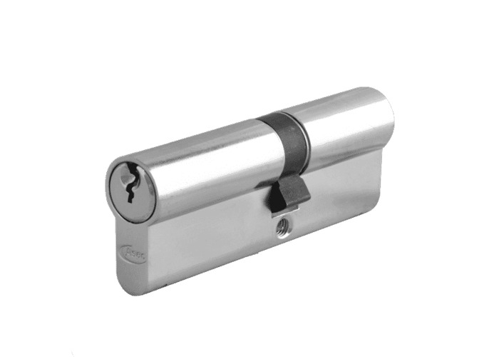ASEC 5-Pin Euro Double Cylinder - 80mm 35/45 (30/10/40) KD NP  - 1