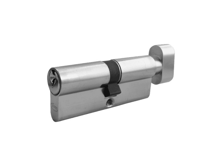 ASEC 5-Pin Euro Key & Turn Cylinder - 85mm 45/T40 (40/10/T35) KD NP - 1