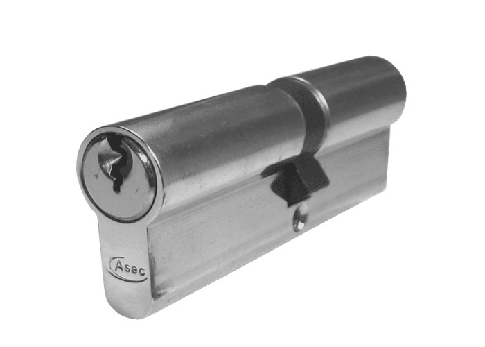 ASEC 6-Pin Euro Double Cylinder - 85mm 35/50 (30/10/45) KD NP  - 1