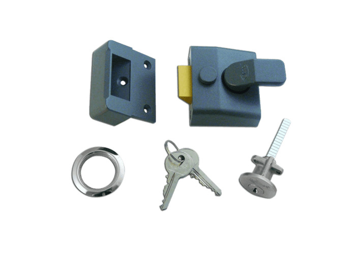ASEC AS14 & AS18 Non-Deadlocking Nightlatch - 40mm DMG Case - SC Cyl  - 1