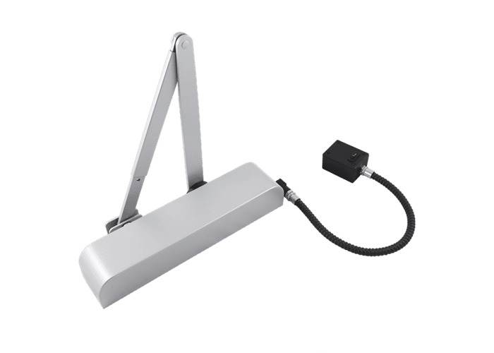 ASEC E-Mag Size 4 Overhead Door Closer With Swing Free & Hold Open Facility - Size 4 SE - 1