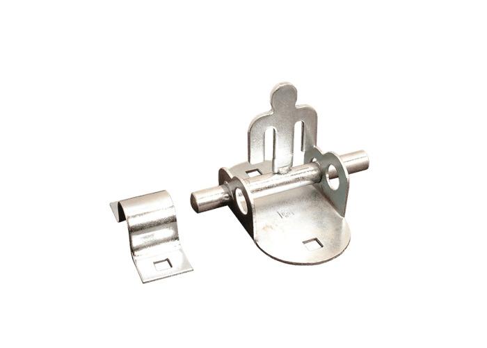 ASEC Oval Padbolt - Zinc Plated - 1