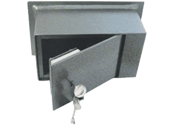 ASEC Wall Safe - 9kg Key 4 Brick - 1