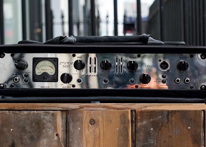 Ashdown ABM-500-EVO II Bass Amp Head - 1