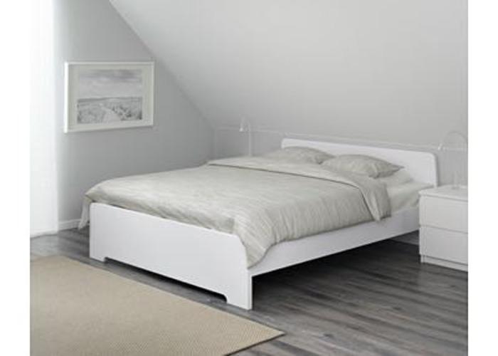Askvoll Double IKEA Bed - 1
