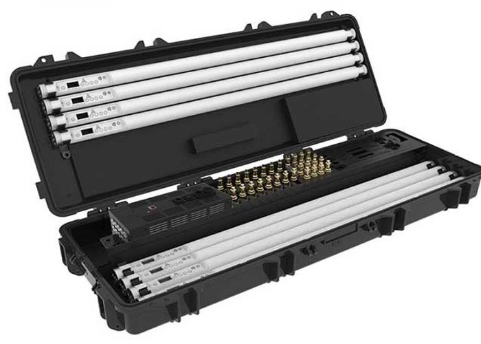 Astera Titan Tube LED Kit 2 (8) With Charger Case & ART 7 Box - 1