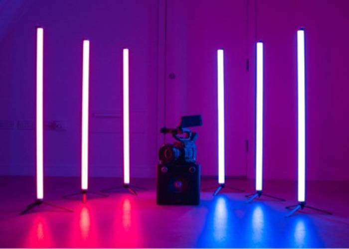 Astera Titan Tubes (+ case & Remote) - RGB LED film lights - 1