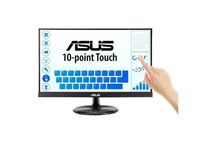 "Asus 21.5"" Frameless IPS LED Touchscreen Monitor (VT229H), 1920 x 1080, 5ms, VGA, HDMI, Speakers, VESA - 1"