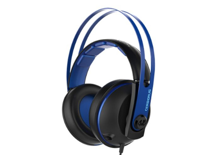 Asus CERBERUS Gaming Headset V2, 53mm Drivers, Braided Cable, Blue - 1