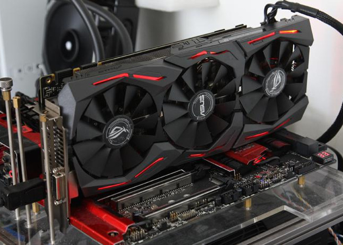 ASUS GTX Strix GeForce 1070 Graphics Card - 1