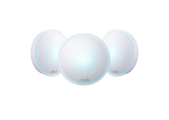 Asus LYRA Mini (MAP-AC1300) Whole-Home Mesh Wi-Fi System, 3 Pack, Dual Band AC1300, Parental Controls, App Management - 1