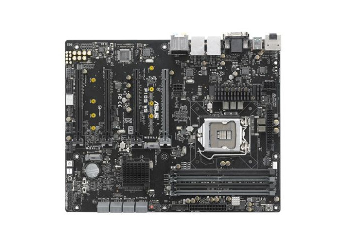 Asus P10S WS, Server/WS, Intel C236, 1151, ATX, DDR4, DVI, HDMI, DP, Quad PCIe3, Dual GB LAN - 1