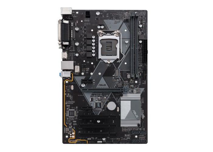 Asus PRIME H310-PLUS, Intel H310, 1151, ATX, DDR4, VGA, HDMI, M.2, Parallel, Serial, PCI - 1