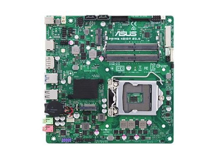 Asus PRIME H310T R2.0/CSM - Corporate Stable Model, Intel H310, 1151, Thin Mini ITX, DDR4 SO-DIMM, HDMI, DP, M.2, Business Features - 1