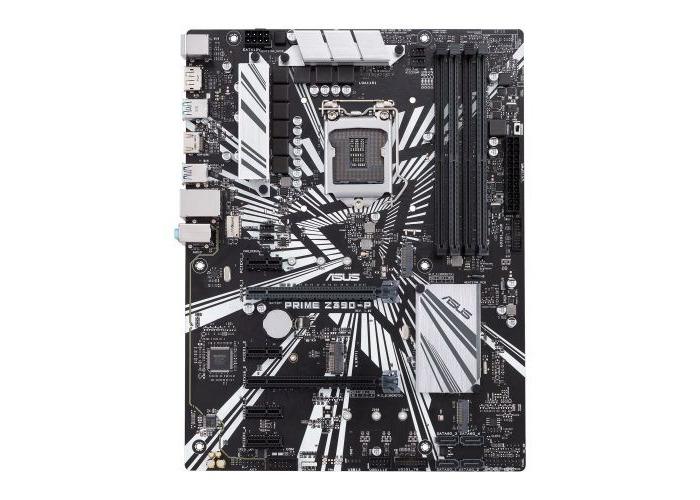 Asus PRIME Z390-P, Intel Z390, 1151, ATX, 4 DDR4, XFire, HDMI, DP, Dual M.2 - 1