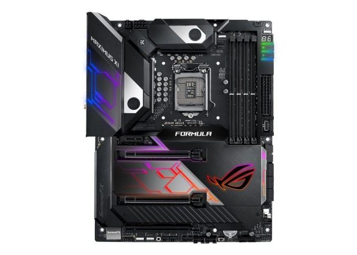Asus ROG MAXIMUS XI FORMULA, Intel Z390, 1151, ATX, XFire/SLI, HDMI, Wi-Fi, 5G LAN, RGB Lighting - 1