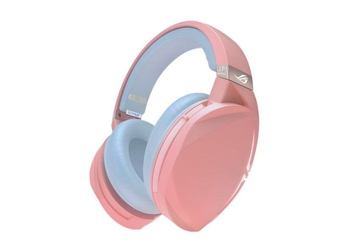 Asus ROG STRIX Fusion 300 PNK LTD 7.1 Gaming Headset, 50mm Drivers, 7.1 Surround Sound, Boom Mic, Pink - 1