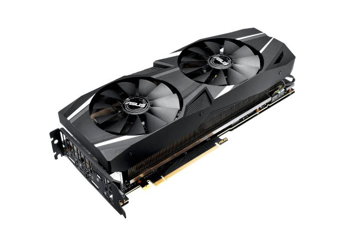 Asus RTX2070 DUAL, 8GB DDR6, HDMI, 3 DP, USB-C, 1650MHz Clock - 1