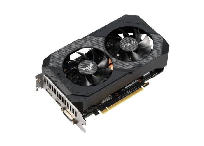 Asus TUF GAMING GTX1660 OC, 6GB DDR5, DVI, HDMI, DP, 1845MHz, Overclocked - 1