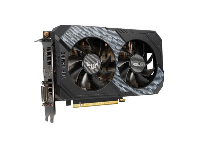 Asus TUF GAMING RTX2060 OC, 6GB DDR6, DVI, 2 HDMI, DP, 1740MHz Clock - 1