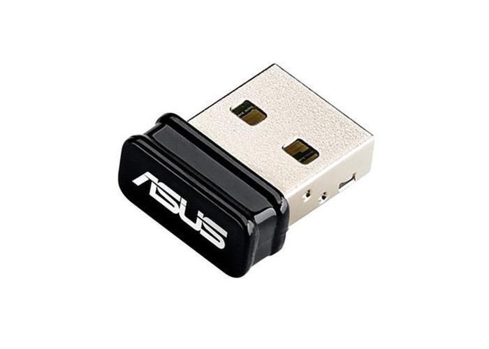 Asus (USB-N10 NANO) 150Mbps Wireless N Nano USB Adapter, AP Mode - 1