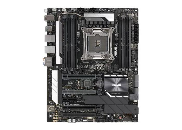 Asus WS X299 PRO, Workstation, Intel X299, 2066, ATX, DDR4, Dual M.2, U.2, Dual LAN, SLI/XFire - 1