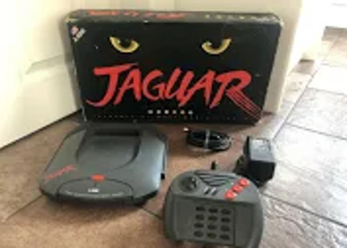 Atari Jaguar  64 games console for scart connection to tv  - 1