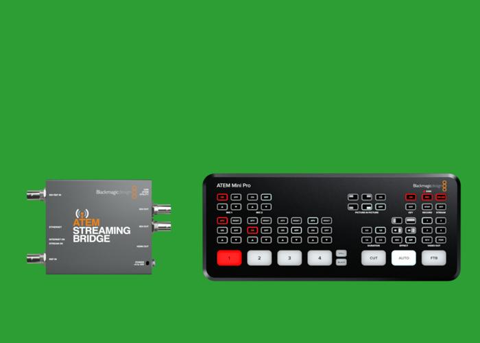 Streaming Bridge + ATEM Mini PRO bundle - 1