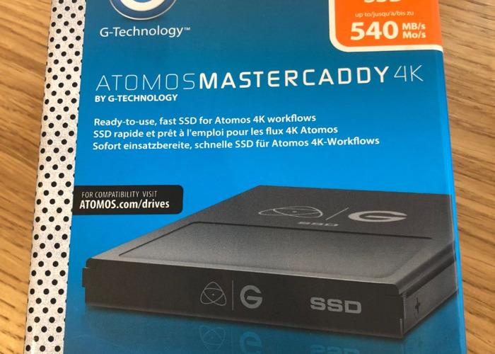 Atomos Mastercaddy 4K SSD - 1