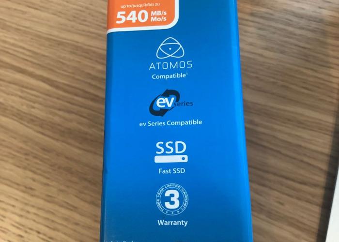 Atomos Mastercaddy 4K SSD - 2