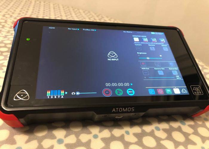 Atomos Ninja Flame 4K HDMI monitor, Daylight viewable - 1