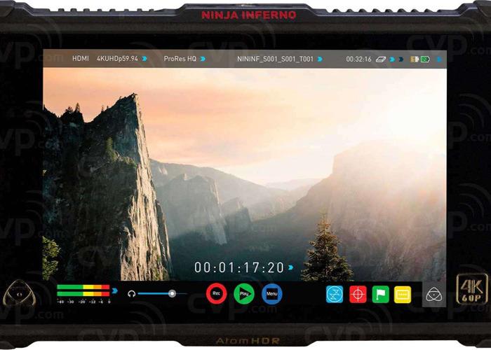 Atomos Ninja Inferno // 4K 7.1in Monitor de campo + 1TB SSD - 1