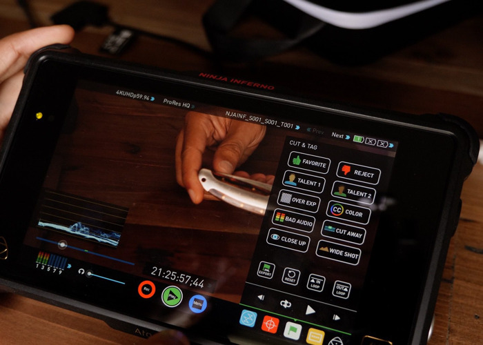 Atomos Ninja Inferno with Batteries, Charger & SSD - 1